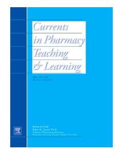 Currents in Pharmacy Teaching and Learning