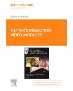 Netter's Dissection Video Modules (Retail Access Card)