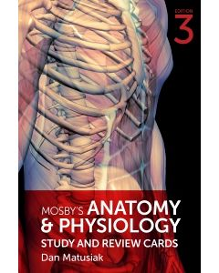 Mosby's Anatomy & Physiology Study and Review Cards