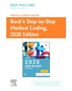 Buck's Medical Coding Online for Step-by-Step Medical Coding  2020 Edition (Access Card)