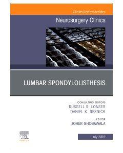 Lumbar Spondylolisthesis  An Issue of Neurosurgery Clinics of North America