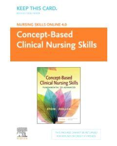 Nursing Skills Online Version 4.0 Concept-Based Clinical Nursing Skills (Access Code)