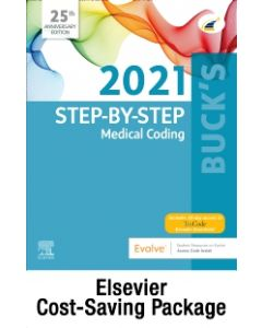 Buck's Step-by-Step Medical Coding  2021 Edition – Text and Workbook Package
