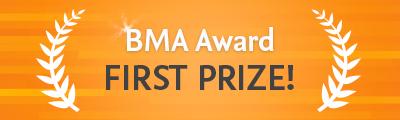 BMA winner award