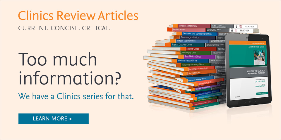 Clinics Review Articles. Current, concise and critical.
